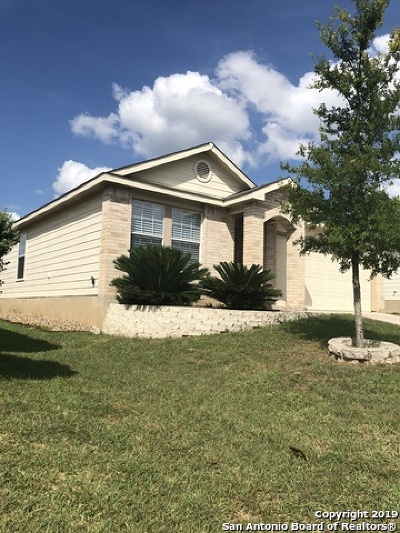 San Antonio Single Family Home New: 3707 Ponderosa Bend