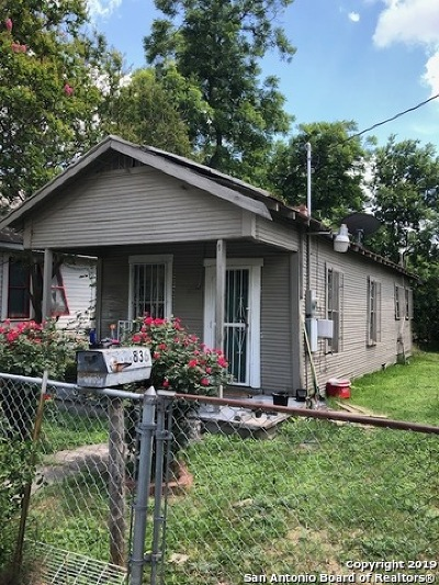 San Antonio TX Single Family Home New: $49,950