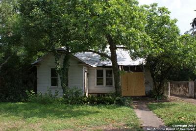 Monte Vista Single Family Home Active Option: 328 E Huisache Ave