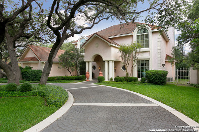 Stone Oak Single Family Home For Sale: 709 Sonterra Blvd