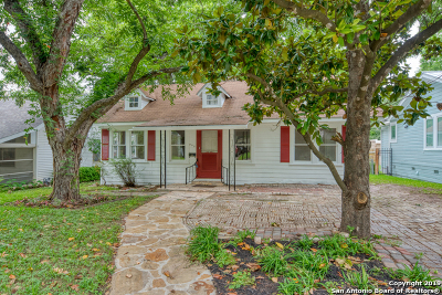 Alamo Heights Single Family Home Active Option: 309 Alta Ave
