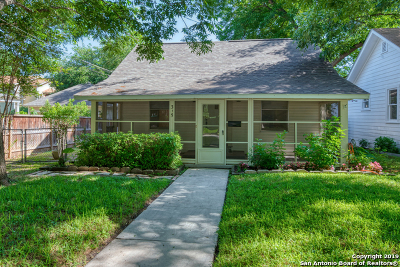 Alamo Heights Single Family Home Active Option: 315 Alta Ave