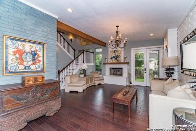San Antonio Single Family Home Price Change: 267 Rockhill Dr