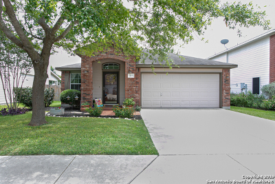 Cibolo Single Family Home Active Option: 325 Longhorn Way