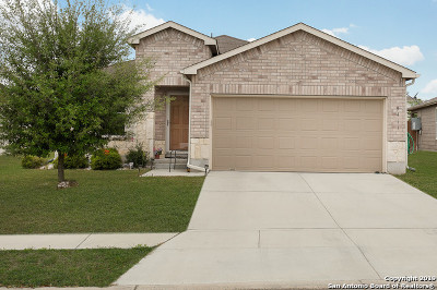 Converse Single Family Home Active Option: 9411 Hanover Sky