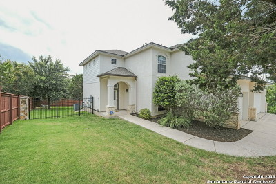 Helotes Single Family Home Active Option: 8410 Artesia Ave