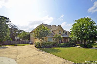 Boerne Single Family Home For Sale: 27715 Woodway Bend