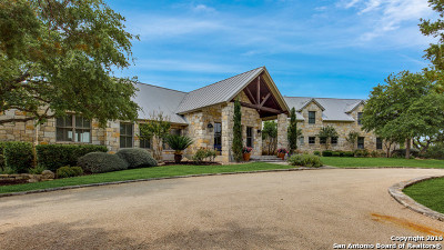 Comal County Farm & Ranch For Sale: 5700 Fm 1863