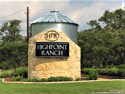 Boerne Residential Lots & Land For Sale: Lot 51 High Point Ranch Rd