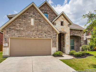 Cibolo Single Family Home Active Option: 821 Perugia