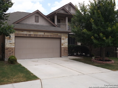Cibolo Single Family Home Active Option: 120 Rawhide Way