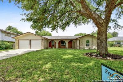 Schertz Single Family Home For Sale: 105 Webster Dr