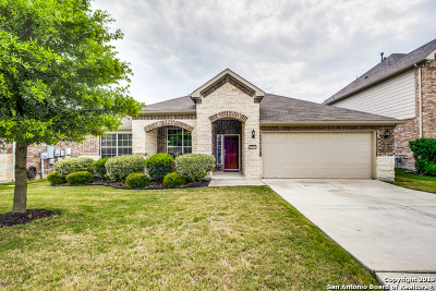 Bexar County Single Family Home Active Option: 3803 Retreat Run