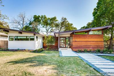 Terrell Hills Single Family Home Active Option: 712 Morningside Dr