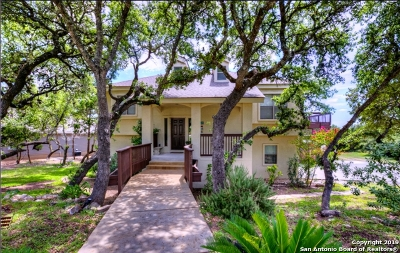 Canyon Lake Single Family Home Price Change: 711 Lazy Oaks Dr