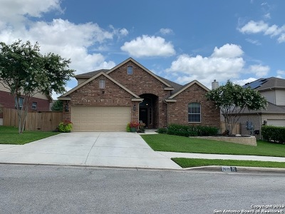 Schertz Single Family Home Price Change: 2621 Patron Village