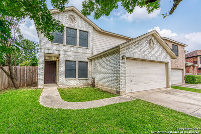 Bexar County Single Family Home Active Option: 12011 Crescent Chase