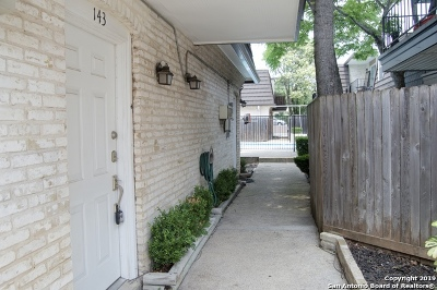 San Antonio Condo/Townhouse Back on Market: 8058 Broadway St #143 S