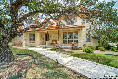 Boerne Single Family Home Active Option: 223 Pecan Pkwy