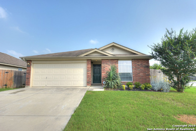 New Braunfels Single Family Home Active Option: 3306 Morning Quail