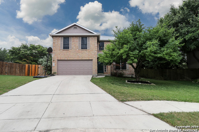 Schertz Single Family Home Active Option: 3483 Scarlet Rose
