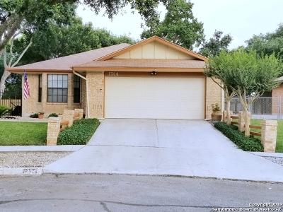 Schertz Single Family Home Active Option: 1304 Cyrus McCormick