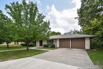 Windcrest Single Family Home For Sale: 622 Sunhaven Dr