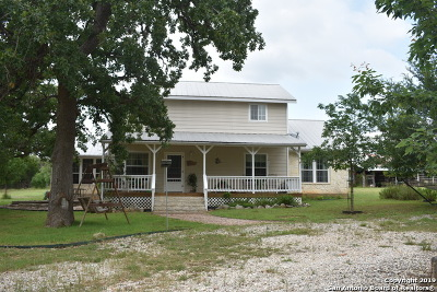 Medina Single Family Home For Sale: 1206 Fm 337