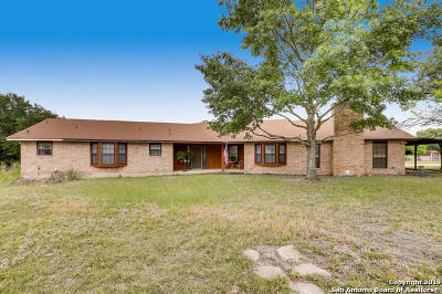 Guadalupe County Single Family Home For Sale: 3130 Green Valley Rd