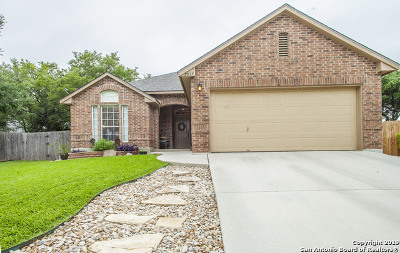 Schertz Single Family Home Active Option: 2837 Berry Trace