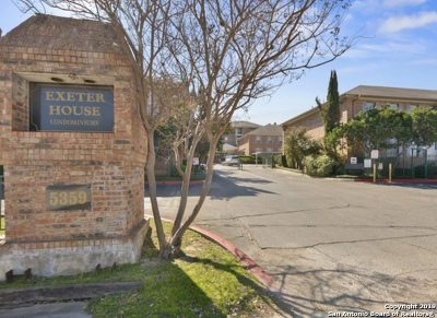 Oak Hills Condo/Townhouse For Sale: 5359 Fredericksburg Rd #505