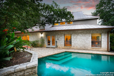 San Antonio Single Family Home Price Change: 611 Bluff Trail