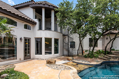 Boerne Single Family Home For Sale: 7805 Colonial Woods