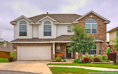 Bexar County Single Family Home For Sale: 12610 Panola Cove
