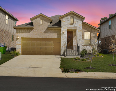 Bexar County Single Family Home Price Change: 2176 Abadeer Trail