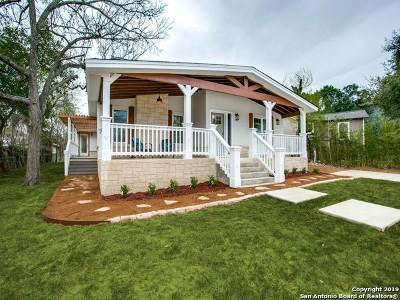 Terrell Hills Single Family Home For Sale: 810 Elizabeth Rd