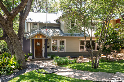 Alamo Heights Single Family Home Active Option: 602 Lamont Ave