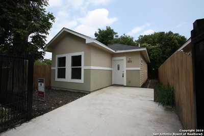 Single Family Home For Sale: 2011 Colima St