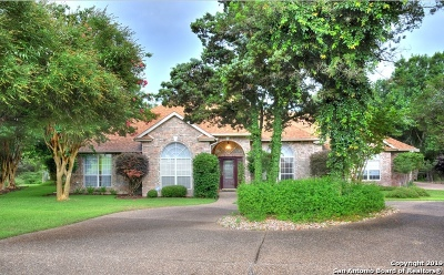 New Braunfels Single Family Home For Sale: 71 Hunters Trail