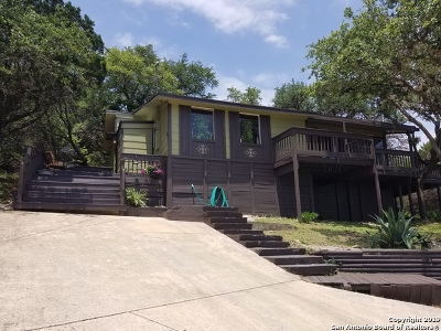 Canyon Lake Single Family Home Price Change: 642 Contour Dr