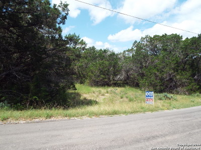 Canyon Lake TX Residential Lots & Land For Sale: $45,000
