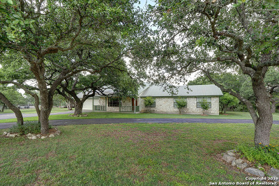 Boerne Single Family Home Active Option: 25 Jason Rd
