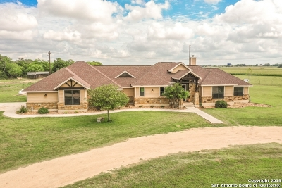 La Vernia Single Family Home For Sale: 378 Cibolo Ln