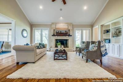Boerne, Cibolo, Converse, Fair Oaks Ranch, Helotes, Leon Valley, New Braunfels, San Antonio, Schertz, Windcrest Single Family Home For Sale: 28453 Bridle Path