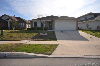 Converse Single Family Home Active Option: 4106 Texas Palm Dr