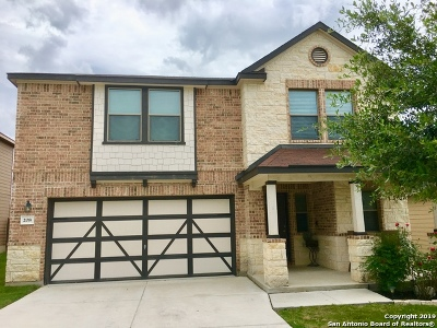 Cibolo Single Family Home Price Change: 208 Gatewood Clf