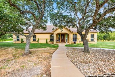 New Braunfels Single Family Home Price Change: 492 Summer Glen Ln