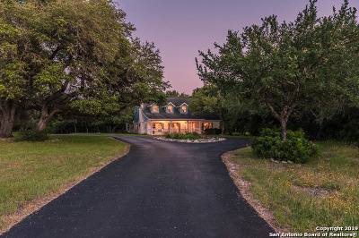New Braunfels Single Family Home Active Option: 1681 Isaac Creek Circle