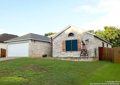 Schertz Single Family Home Active Option: 3512 Davenport