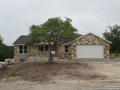 Canyon Lake Single Family Home Active Option: 1212 Summit Bluff
